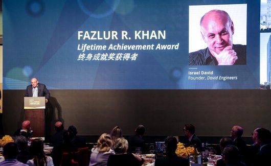 ישראל דוד הוא חתן פרס מפעל חיים של המועצה העולמית לבנייה גבוהה CTBUH לשנת 2019